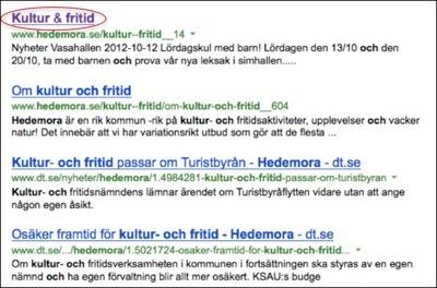 Varken Bing eller Yahoo lägger till webbplatsens namn i titeln.
